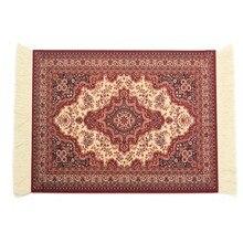 180x280mm tapis tissé tapis de jeu tapis de souris Style persan Vintage tapis de souris tapis de souris cadeau pour jeu dordinateur