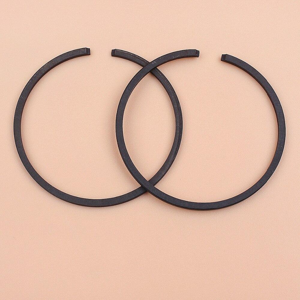 40mm anillos de pistón para HUSQVARNA 40 41 136, 137, 141, 142 142E 238 340 338XPT 339XP cadena vio 240 cortador de cepillo partes