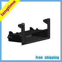 Free shipping-Car refitting DVD frameDVD panelDash KitFasciaAudio frame for TOYOTA 1DIN-storage box with bracket