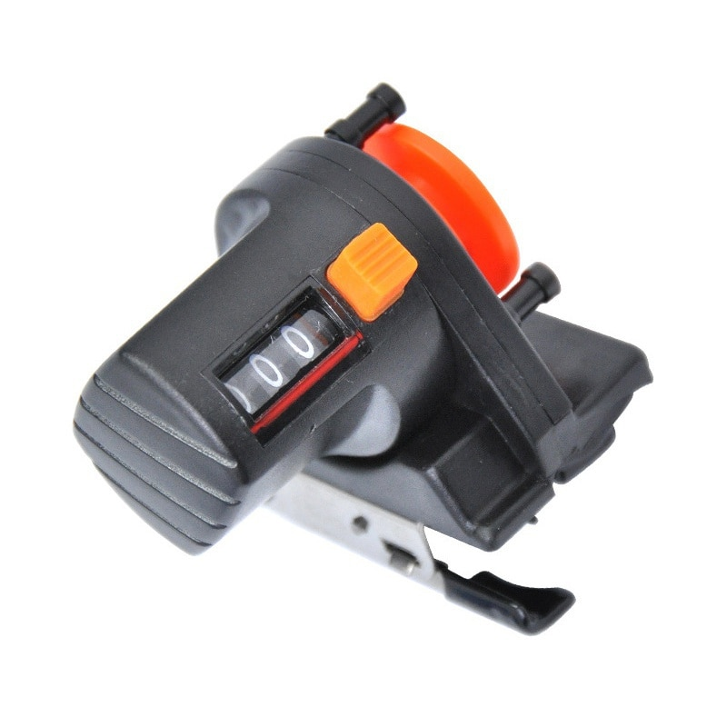 1pcs 0-999M fishing line depth finder counter fishing tool tackle length gauge counter