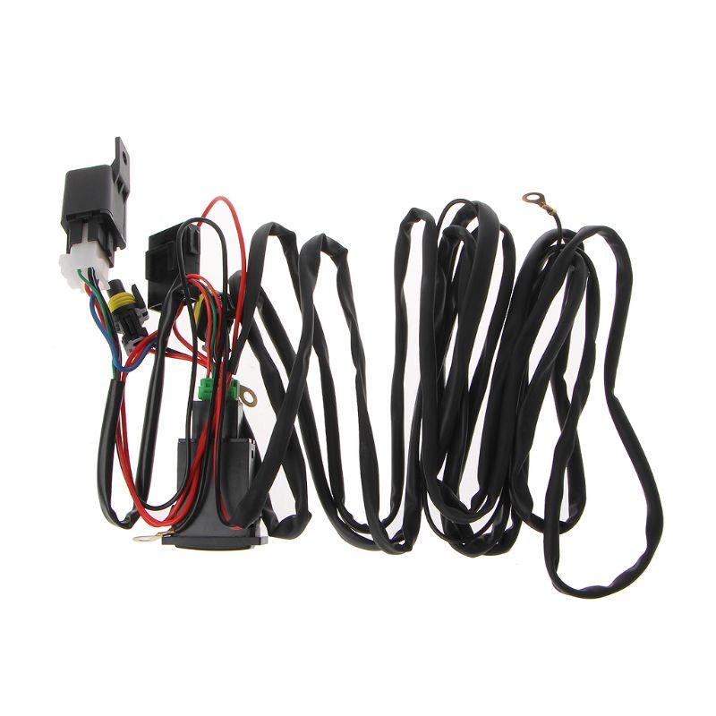 Универсальный 12V 40A релейный жгут проводов с переключателем ВКЛ/ВЫКЛ для
