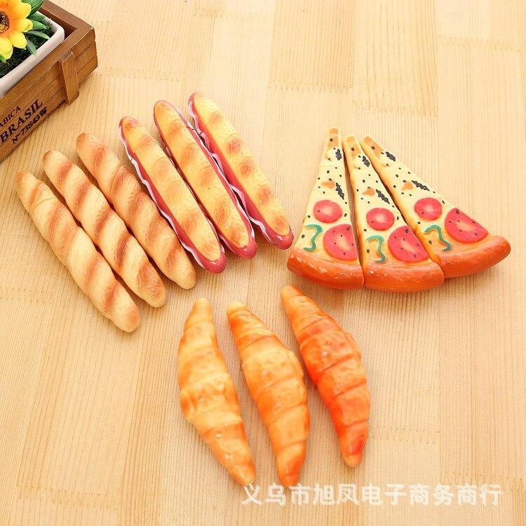 Новинка 2018New Корея креативные канцелярские милые пиццы хот-доги шариковая ручка офисные и школьные принадлежности шариковая ручка бизнес р...