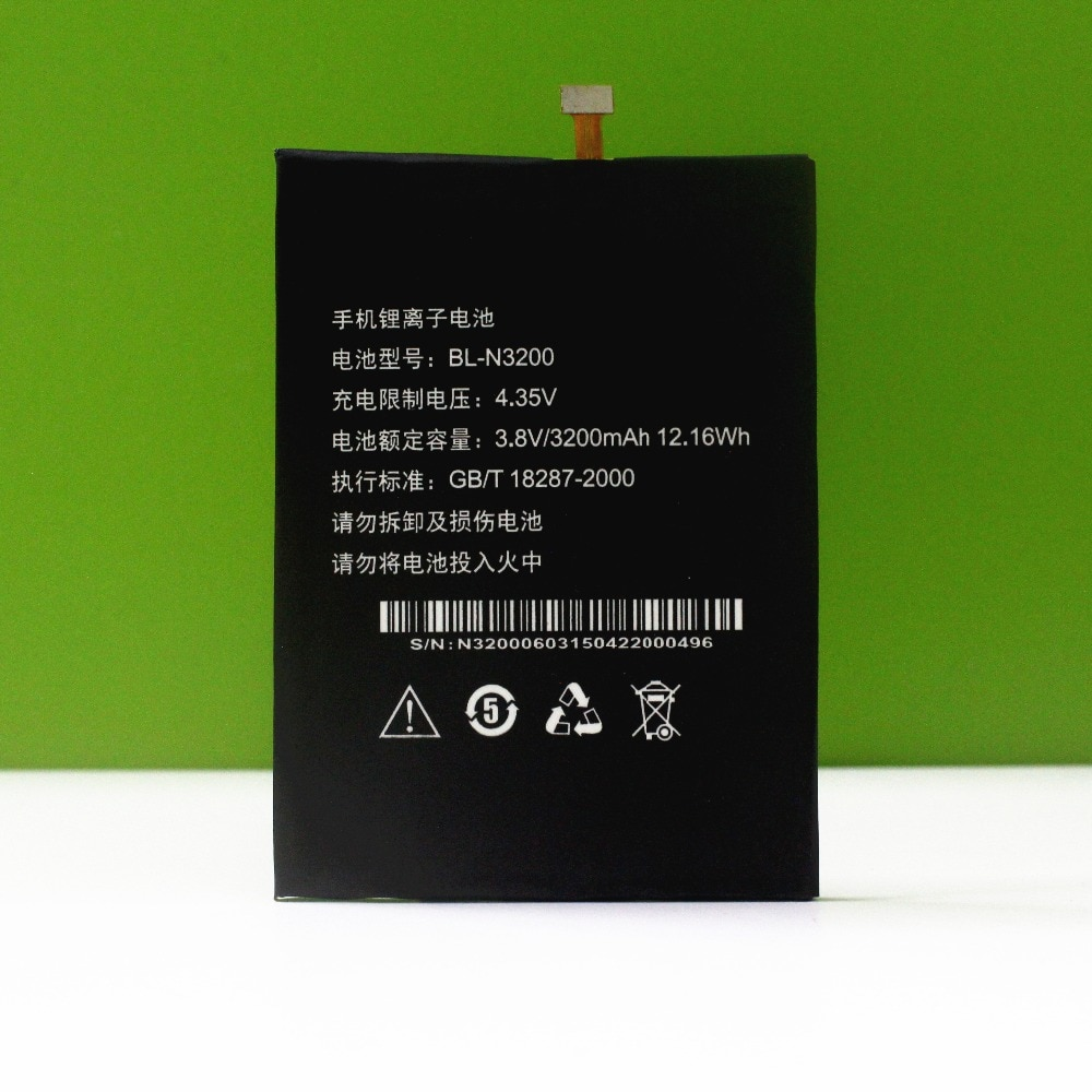 MATCHEASY Original FOR  GIONEE Battery BL-N3200 For Gionee X817 battery In stock+tools enlarge
