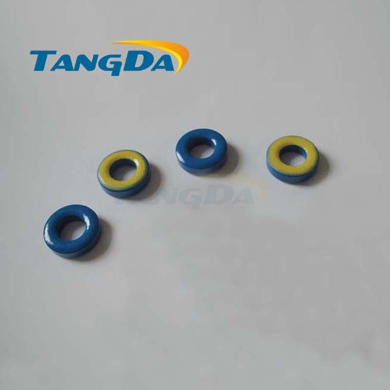 Tangda الحديد مسحوق النوى T68-17 OD * ID * HT 18*9*4.8mm 2.1nH/N2 4ue الحديد الغبار الأساسية الفريت حلقي حلقية الأساسية الأزرق الأصفر