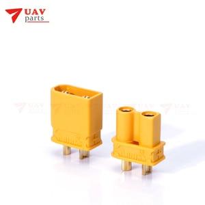 10pairs 2MM XT30U Anti-slip Bullet Connectors Plugs for RC Lipo Battery FPV airplane