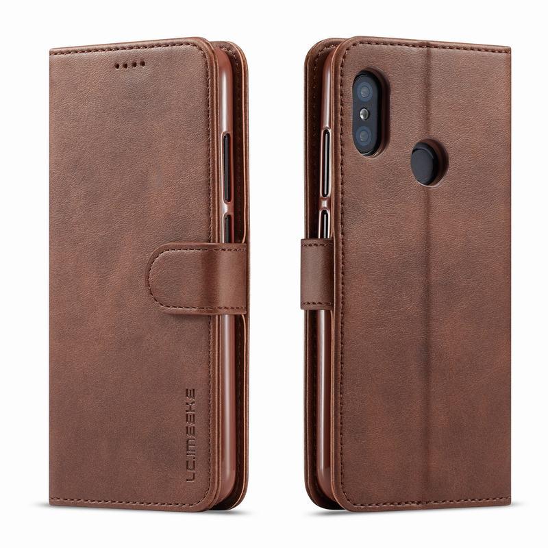 Чехлы для Xiaomi Redmi Note 7 Pro, чехол Luxruy с магнитной застежкой, Простой деловой кошелек, кожаная сумка для телефона для Redmi Note 7, чехол