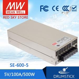 Специальные предложения означает хорошо SE-600-5 5 в 100A meanwell SE-600 5 в 500 Вт один выход питания