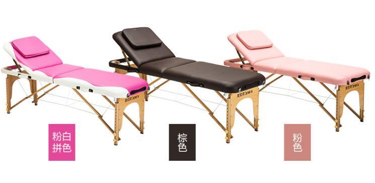 Складной массажный стол для домашнего использования, переносной массажный стол для физиотерапии.