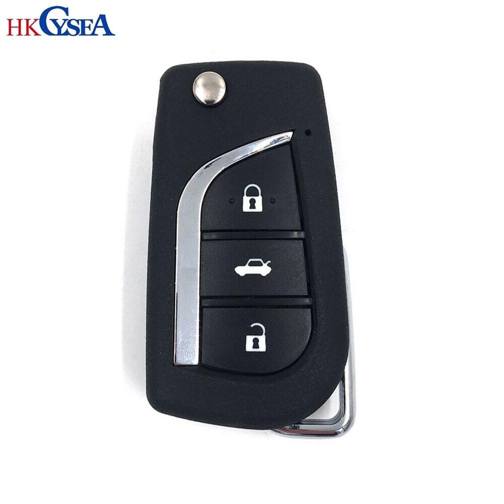 Hkcysea kd b13 escudo da chave do carro nenhuma placa de bateria para kd900/mini kd/urg200 generater chave b série controle remoto capa