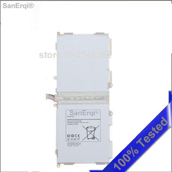 "20 unids/lote para Samsung Galaxy Tab 4 10,1 ""Tablet T530 T531 T535 P5220 SM-T530NU 6800mAh EB-BT530FBC/EB-BT530FBE batería"