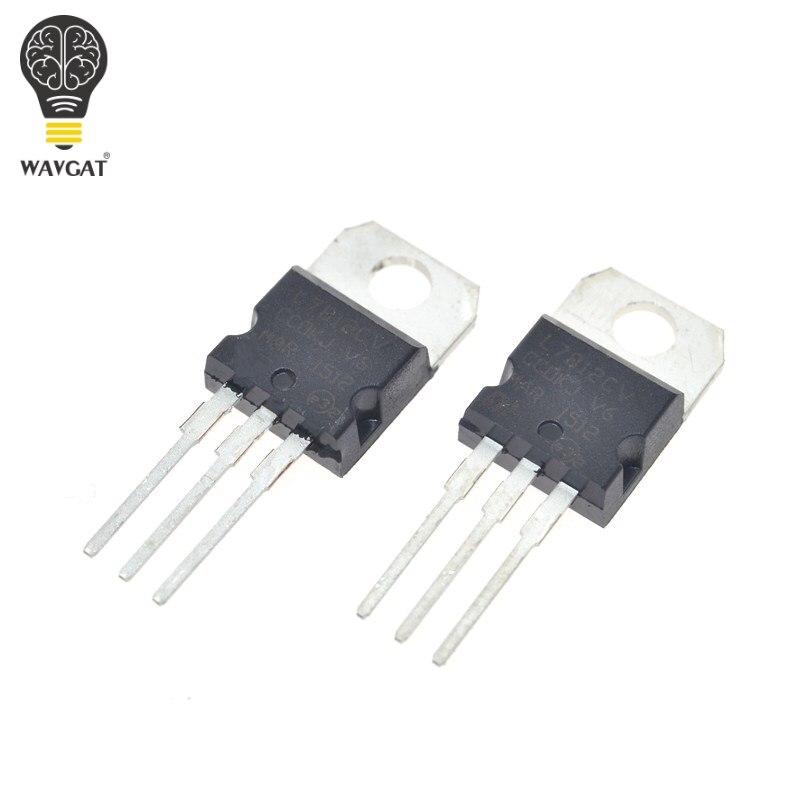 Envío gratis 10 unids/lote L7812CV L7812 LM7812-7812 a-220 nuevo y Original ST reguladores de tensión positivos