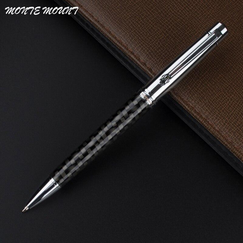 Bolígrafo de fibra suave con Clip de diamante de MONTE MOUNT de...