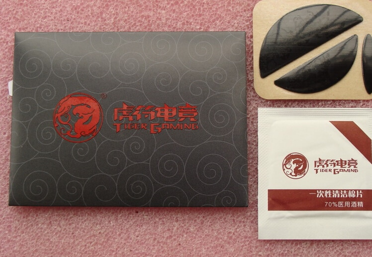 ¡Gran oferta! 1 sets/pack Original Tiger Gaming Mouse pies para DIGITECH MX518/G400/G400S Teflon 0,6mm espuma envío gratis