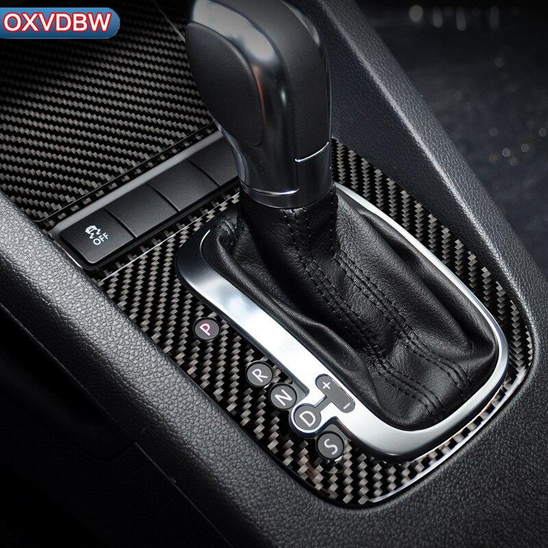 Аксессуары для volkswagen scirocco R, автомобильный Стайлинг, углеродное волокно, рулевое колесо, шестерня, панель, дверные ручки, внутренние наклейк...