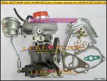 Turbo TD04L 49377-04300 14412-AA360   Livraison gratuite, 14412-AA140 14412AA360, pour SUBARU Forester Impreza super 1998-03 58T EJ205 2.0L