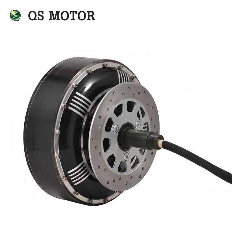 QS MOTOR  4000w 273 40H V3 electric car wheel hub brushless electric motor