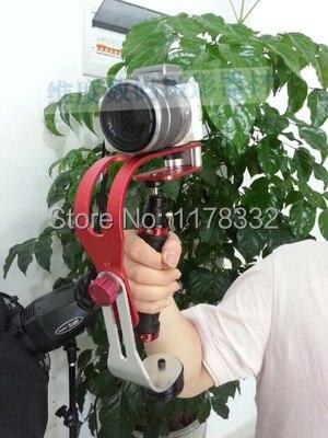 De mano Steadycam estable cámara de vídeo estabilizador frente adaptador para cámara...