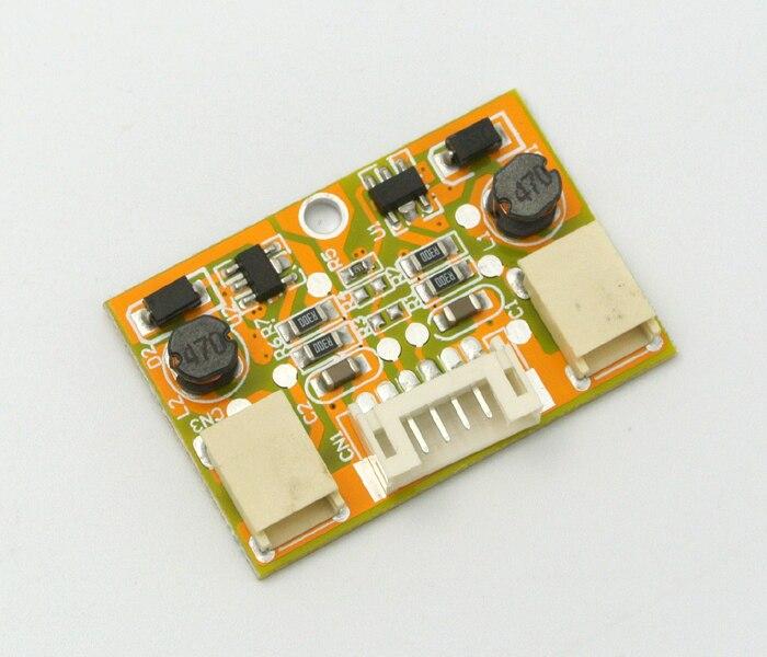 10 pces CA-122 dupla-porta led de corrente constante dupla-lâmpada led placa step-down drive power 9.6v saída led inversor universal