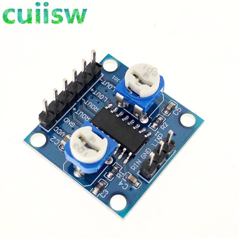 Cuiisw 1PCS PAM8406 Digital Verstärker Bord Mit Volumen Potentiometer 5Wx2 Stereo