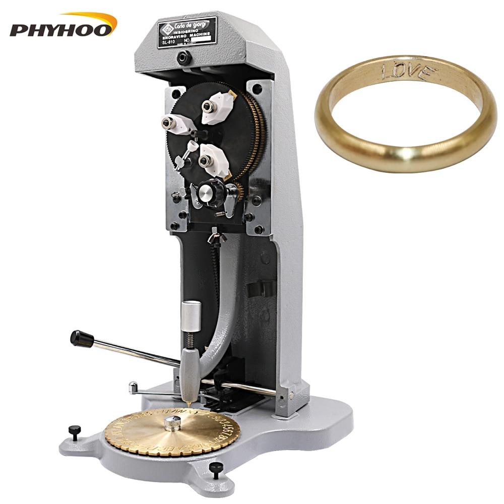 Ring Engraver for Rings Inner Engraving Inside Ring Engraving Machine Standard Letter Block Stamper Jewelry Ring Engraving