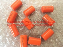 Original neue 100% Vereinigten Staaten SBE 418 P 600v0. 1 uf 104 karat ORANGE DROP film kondensator (Induktor)
