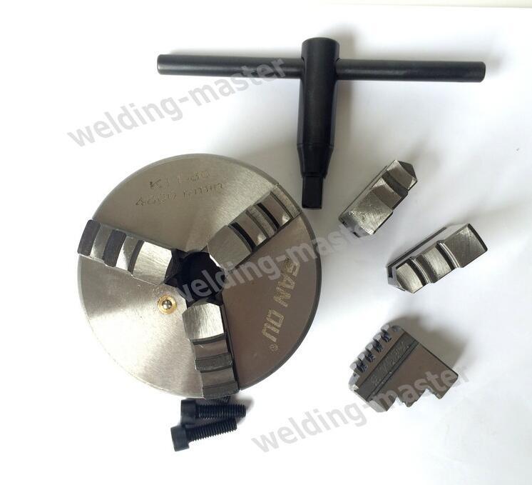 "Manual 3 jaw lathe chuck K11 80 3"" lathe chuck drill 80 mm machine accessories independent chuck"