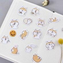 45PCS/PACK Kawaii Cute Dog Shiba Inu Sticker Marker Planner Diary Decorate School Stickers Scrapbooking Bullet Journal sl1507