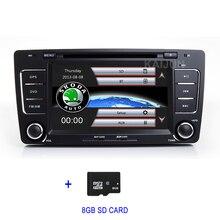Car DVD Multimedia Radio GPS for Skoda Octavia 2009-2012