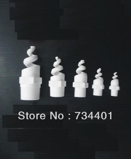Rociador espiral de 1/2 pulgadas, boquilla de desulfurización de óxido de aluminio, boquilla de cerámica en espiral