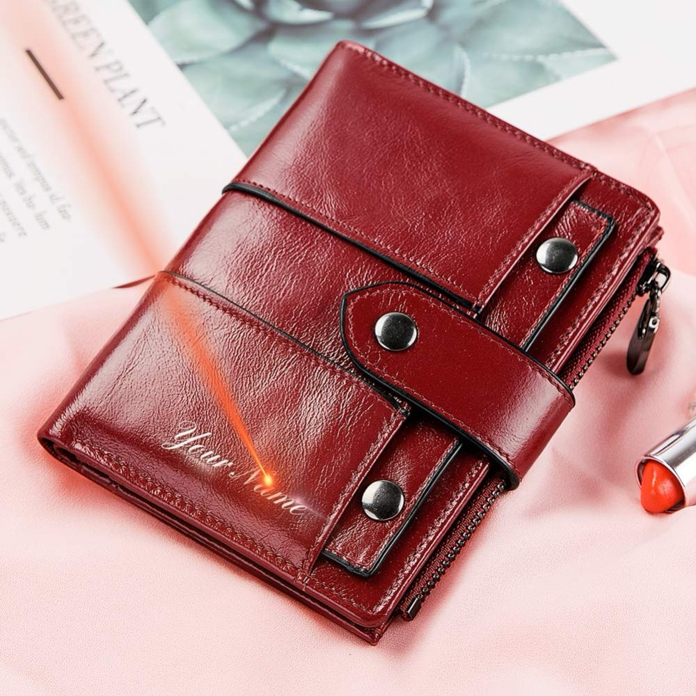 2020 Fashion Women Wallet Leather Female Purse Quality Hasp Small Wallets Photo Holder Clamp Ladies Short Coin Purse Money Bag