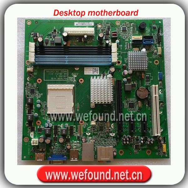 Placa base de escritorio 100% para 570 MA785R 48.3BJ01. 011 AM3 ATX placa base 4GJJ Placa de sistema completamente probada