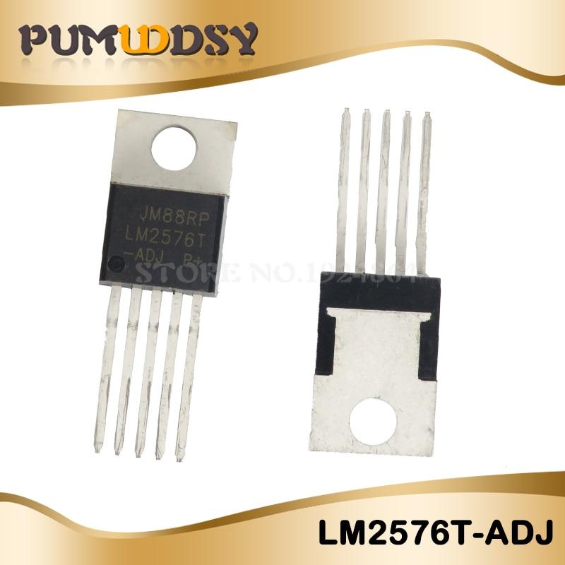 10 PCS/LOT LM2576T-ADJ LM2576T LM2576 2576T-ADJ 2576 T 2576 TO220