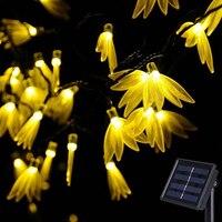 Solar LightFour-leaf Clover String Lights Solar Power Patio Lights Christmas Light Lighting For Home Garden Lawn Party Decoratio