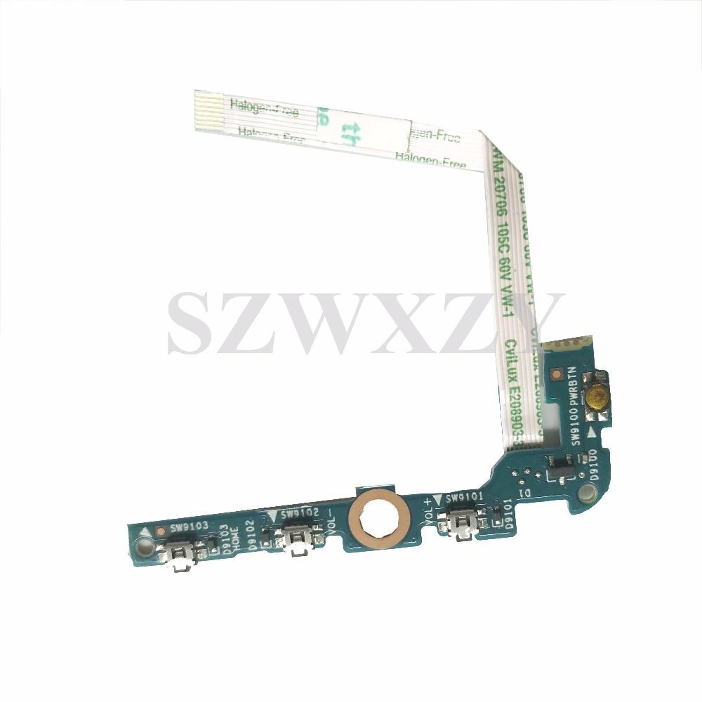 Placa de botón de encendido Original 6050A2755801 para HP Pavilion X2 10-n054na 10-n200na con Cable 6050A2755801-POWER-A01