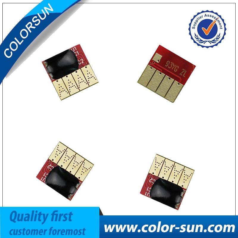 Novo Para HP 934 935 Pro6230 Permanente chips do cartucho de tinta para HP 6830 6835 6812 impressora de 6815 Fichas Auto De Reset