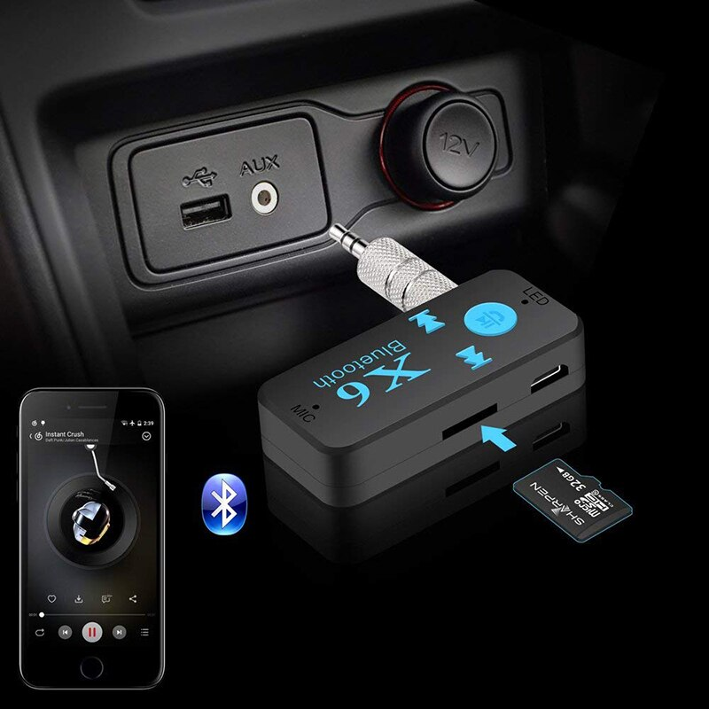 Inalámbrica Bluetooth receptor de Audio 2019 accesorios caliente para Fiat 500 600 Tipo Punto stilo Freemont Cruz Coroma Panda, Idea Palio