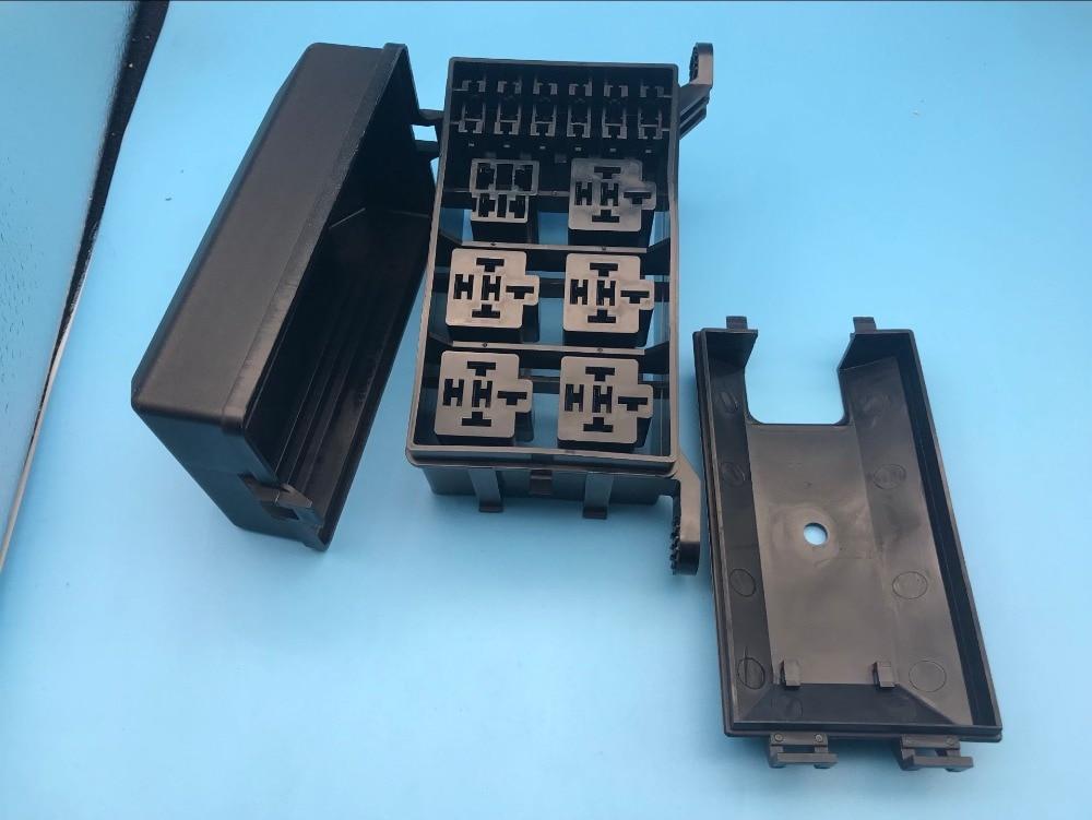Support de boîte à fusible pour voiture   6 support de relais 5 route, la Nacelle, boîte de fusible dassurance pour voiture, lame de Circuit de véhicule