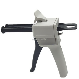 50ml Epoxy Sealant Glue Gun Applicator Glue Adhesive Squeeze 1:1 2:1 Two-Component Adhesive Gun Silica Gel Component Glue Guns