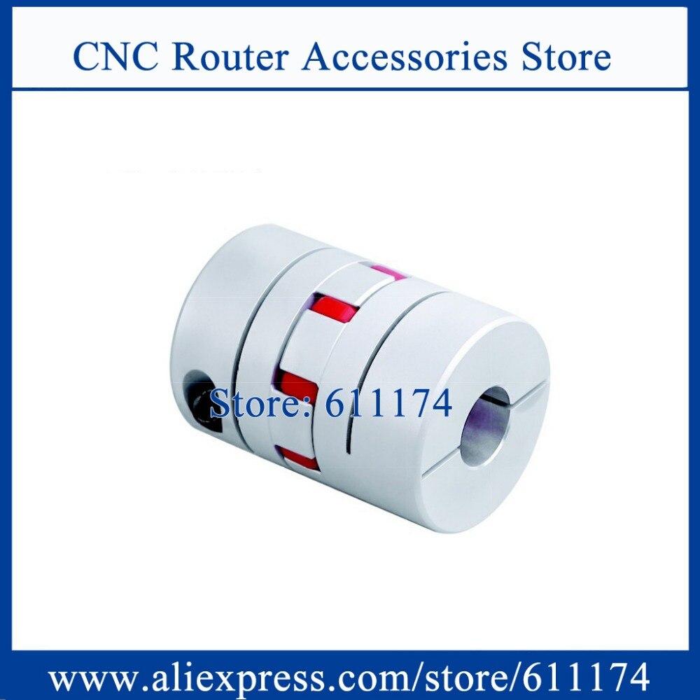 عالية الدقة D55mm cnc الفك اقتران مرنة اقتران الفك مرنة اقتران القطر الداخلي 8 ملليمتر إلى 28 ملليمتر