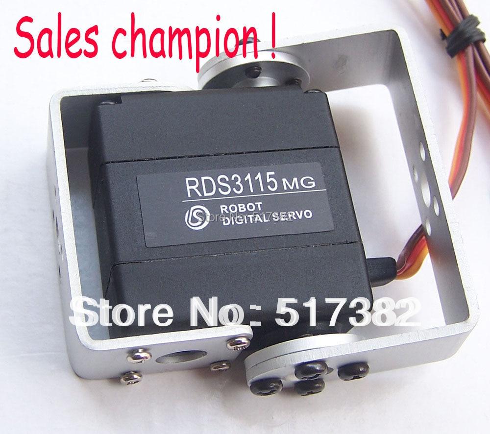 1x оригинальная фабрика RDS3115 металлическая Шестерня Android Робот сервопривод цифровой сервопривод для робота diy отличный сервопривод