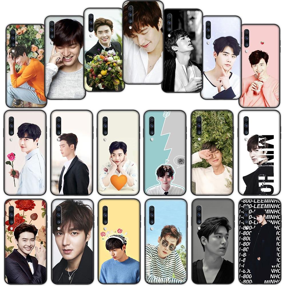 Lee Jong Suk Min Ho cubierta suave funda para Samsung Galaxy S8 S9 S10 más S10e S7 S6 borde