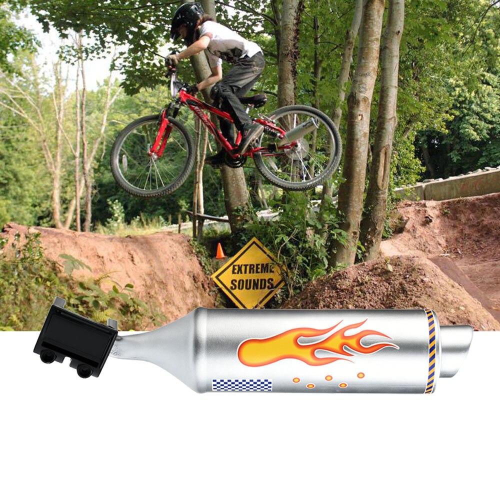 Soporte de bicicleta Turbo tubo de sistema de escape sonido megáfono accesorios de bicicleta de moda silla de montar manija Barra de potencia humana 2019 caliente nuevo