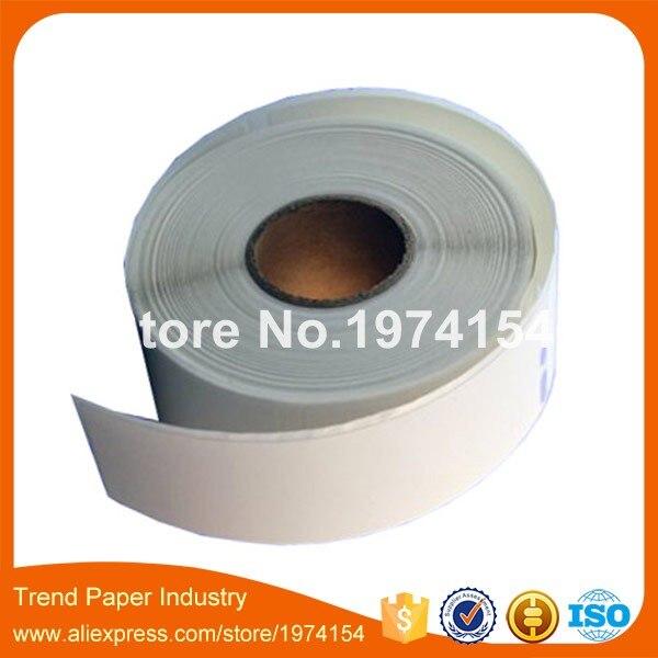 """200 rollos 1-1/8 """"x 3-1/2"""" etiqueta de dirección, Dymo 30320 etiquetas compatibles, etiqueta de rollo de papel térmico"""