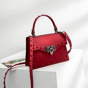 FGGS-Women Messenger Bags Handbags Women Bags Designer Jelly Bag Fashion Shoulder Bag Women PVC Leather Handbags