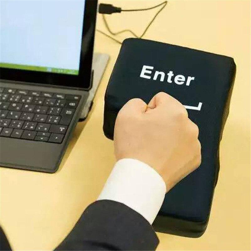 الجدة USB كبير أدخل مفتاح مكافحة الإجهاد الإغاثة سوبرالحجم أدخل مفتاح مكتب عمل رغوة Nap وسادة الإجهاد المخلص