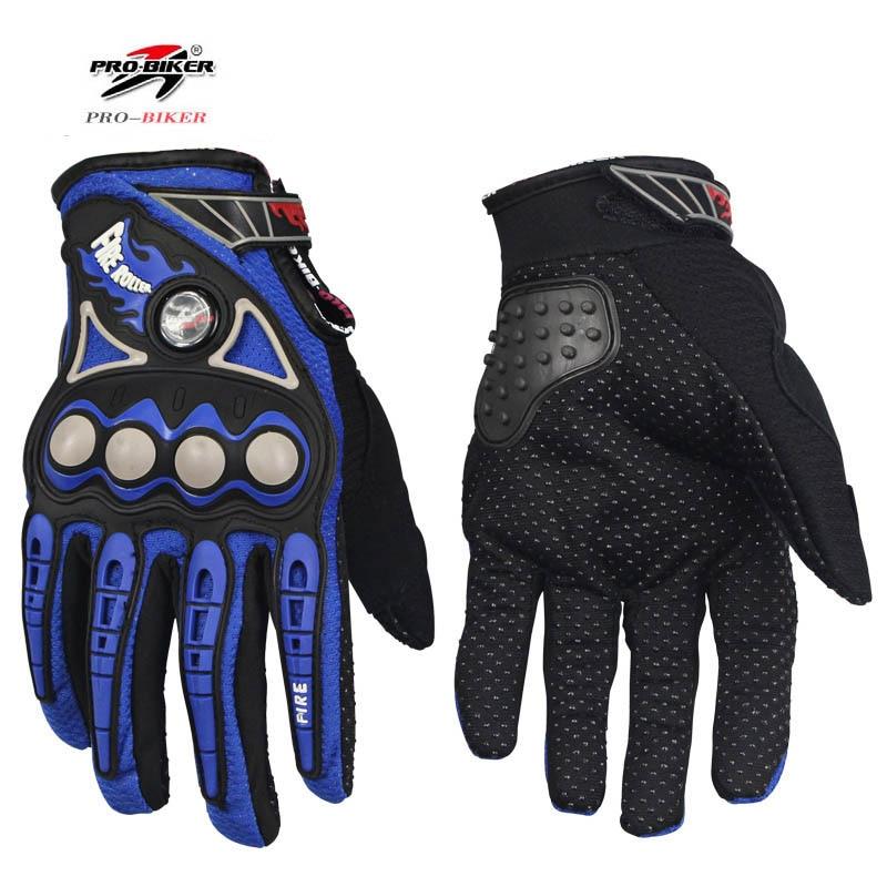 Guante de dedos completos para motocicleta, para carreras, ATV, 4 colores, M-XL,...