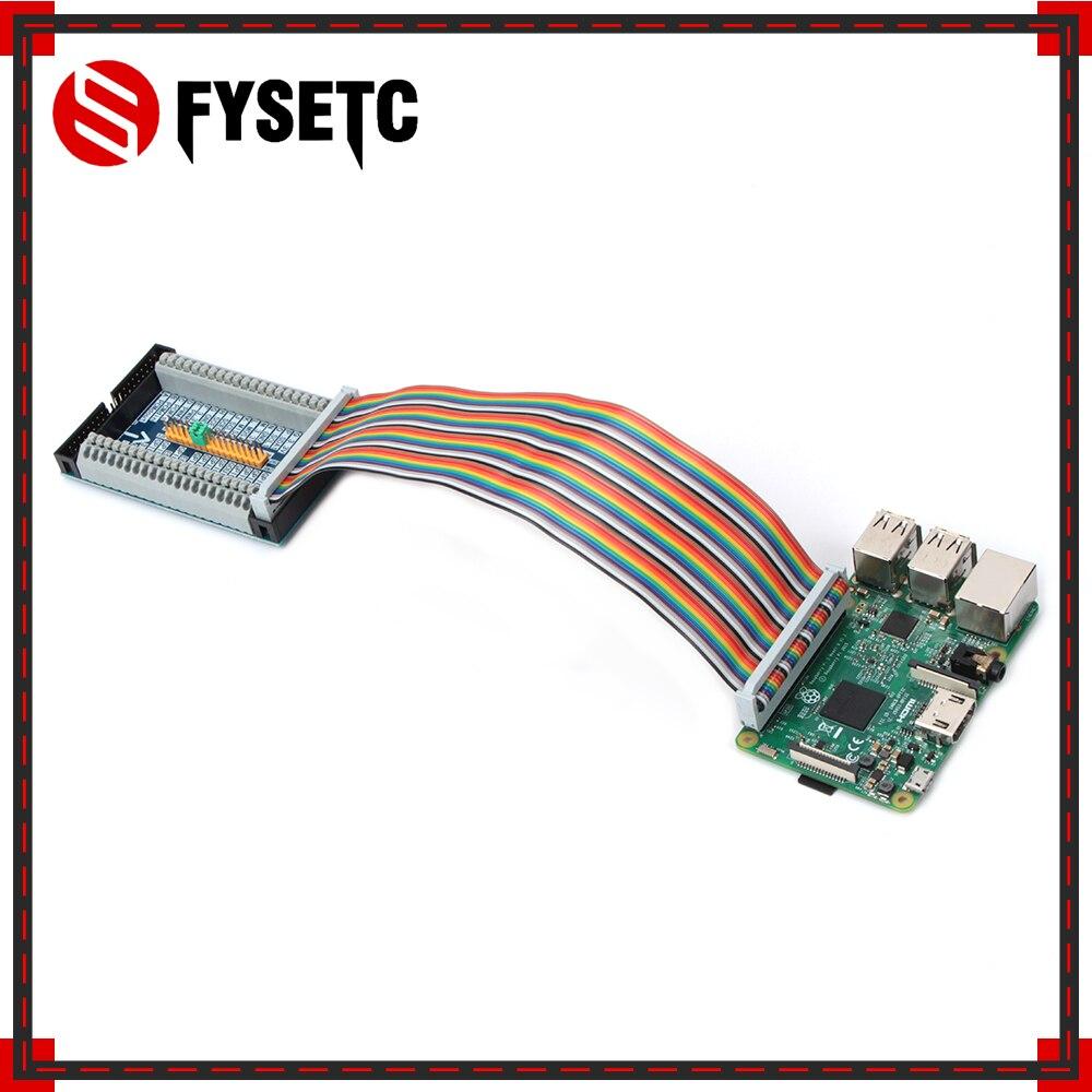 Adaptador de Cable GPIO de 40 pines + Raspberry Pi 2/3 Modelo B, extensión de expansión en cascada multifuncional, Módulo de placa GPIO para PC Orange Pi