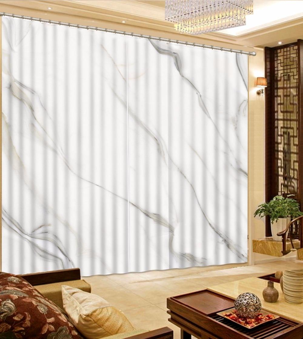 Rideaux occultants 3D en marbre gris   Tapisserie murale, moquette, pour décoration de la maison, salon, literie, Cotinas