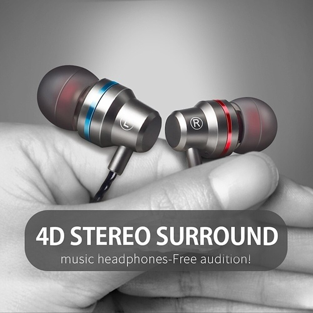 Auriculares con cable M5 con micrófono, auriculares estéreo con control de volumen, auriculares con bajos para teléfono móvil, auriculares millet Iphone