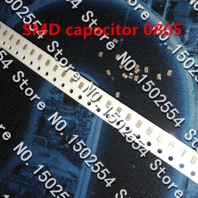 100PCS/LOT SMD ceramic capacitor 0805 100PF 50V 101J NPO COG capacitor